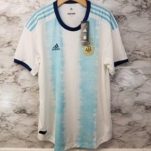 Adidas Mens Argentina Home Soccer Jersey 130$ L